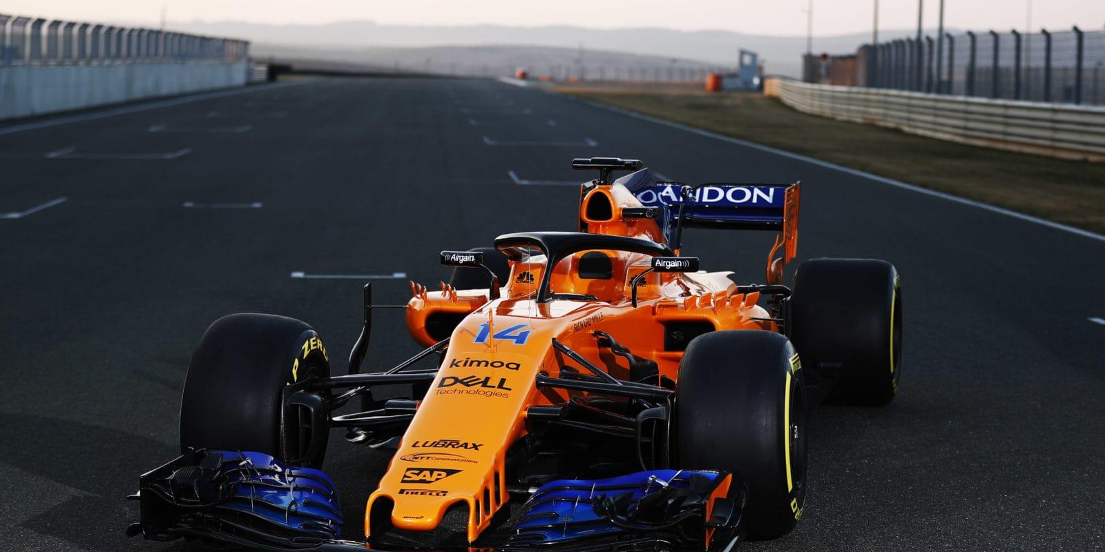 McLaren oznámil datum představení svého monopostu