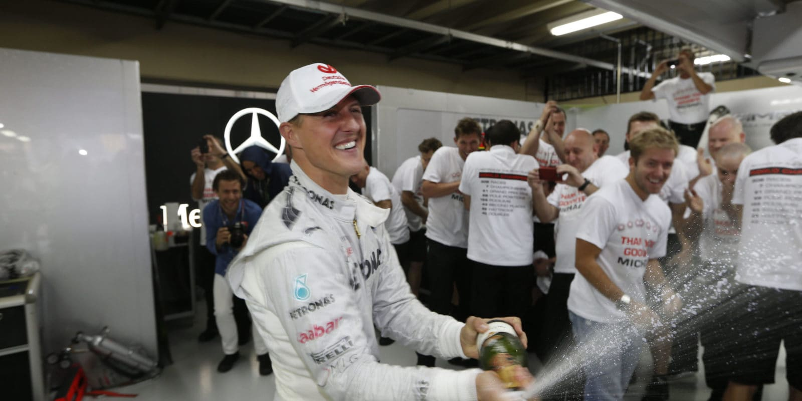 Schumacher položil základ našich současných úspěchů, říká Wolff