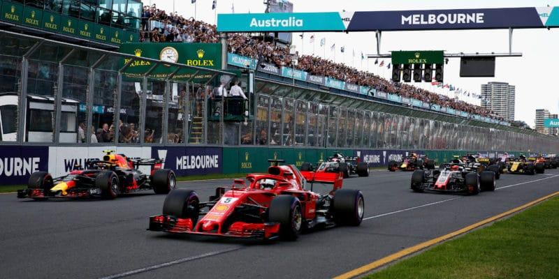 F1 využívá simulace také při zvažování změny podoby roštu