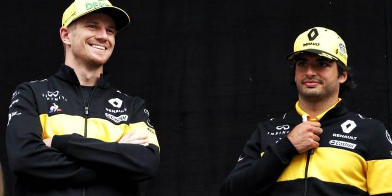 Hülkenberg by vtop autě vyhrával, tvrdí Sainz