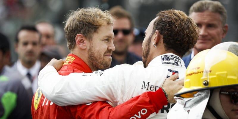 Irvine: Vettel není pořádná konkurence, je přeceňovaný