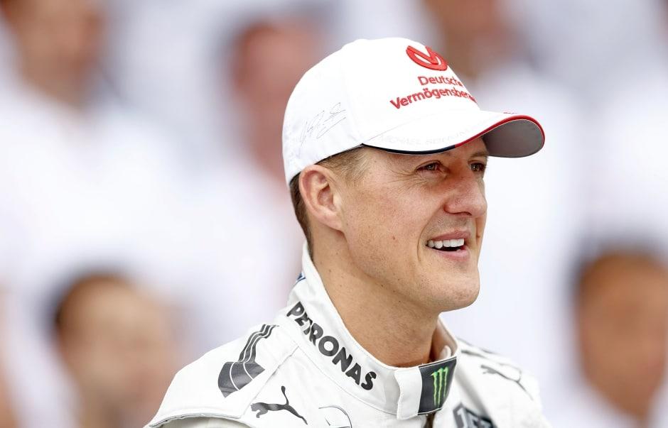 Vzpomínky naMichaela Schumachera