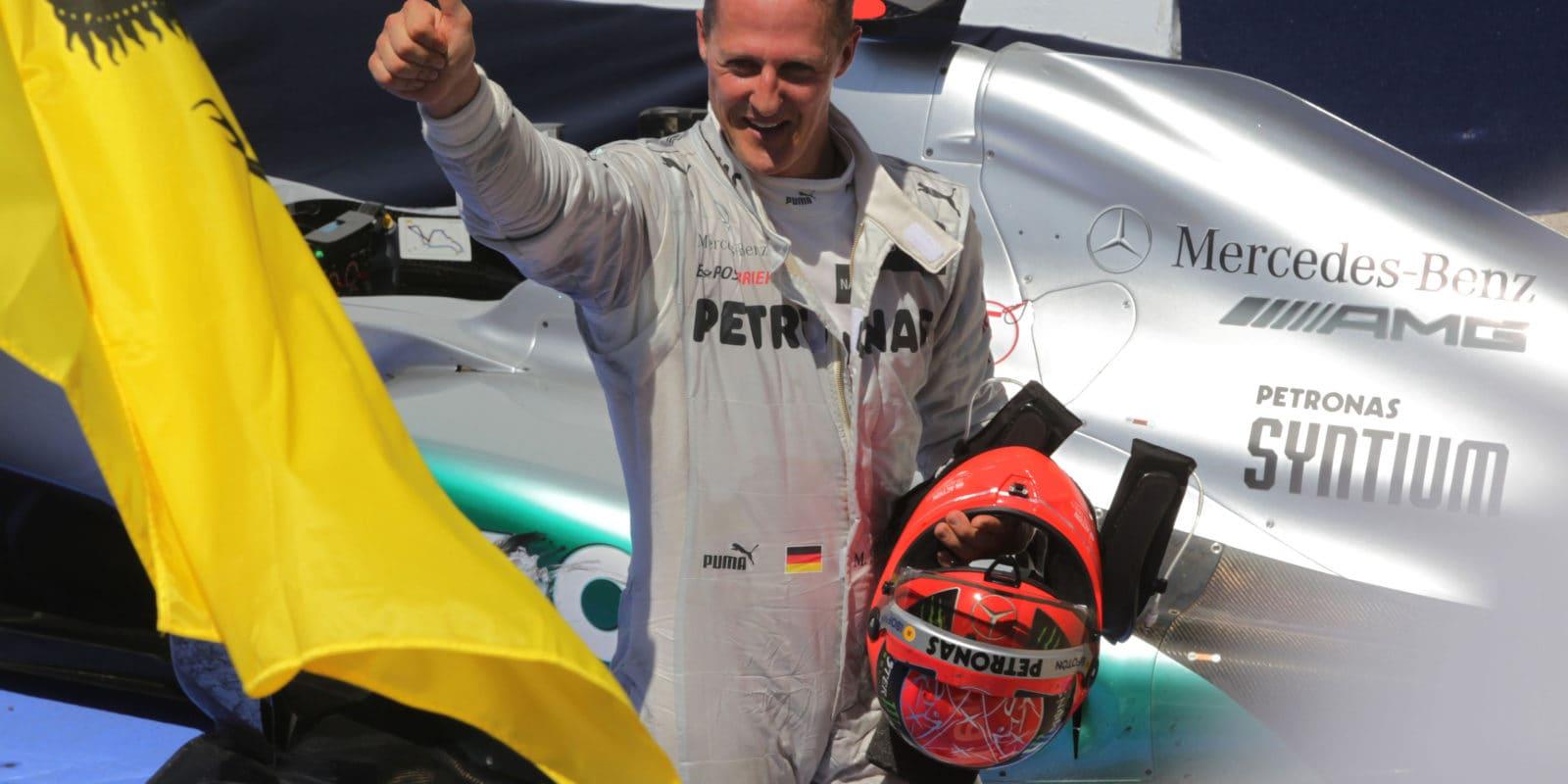 Rozhovor sMichaelem Schumacherem