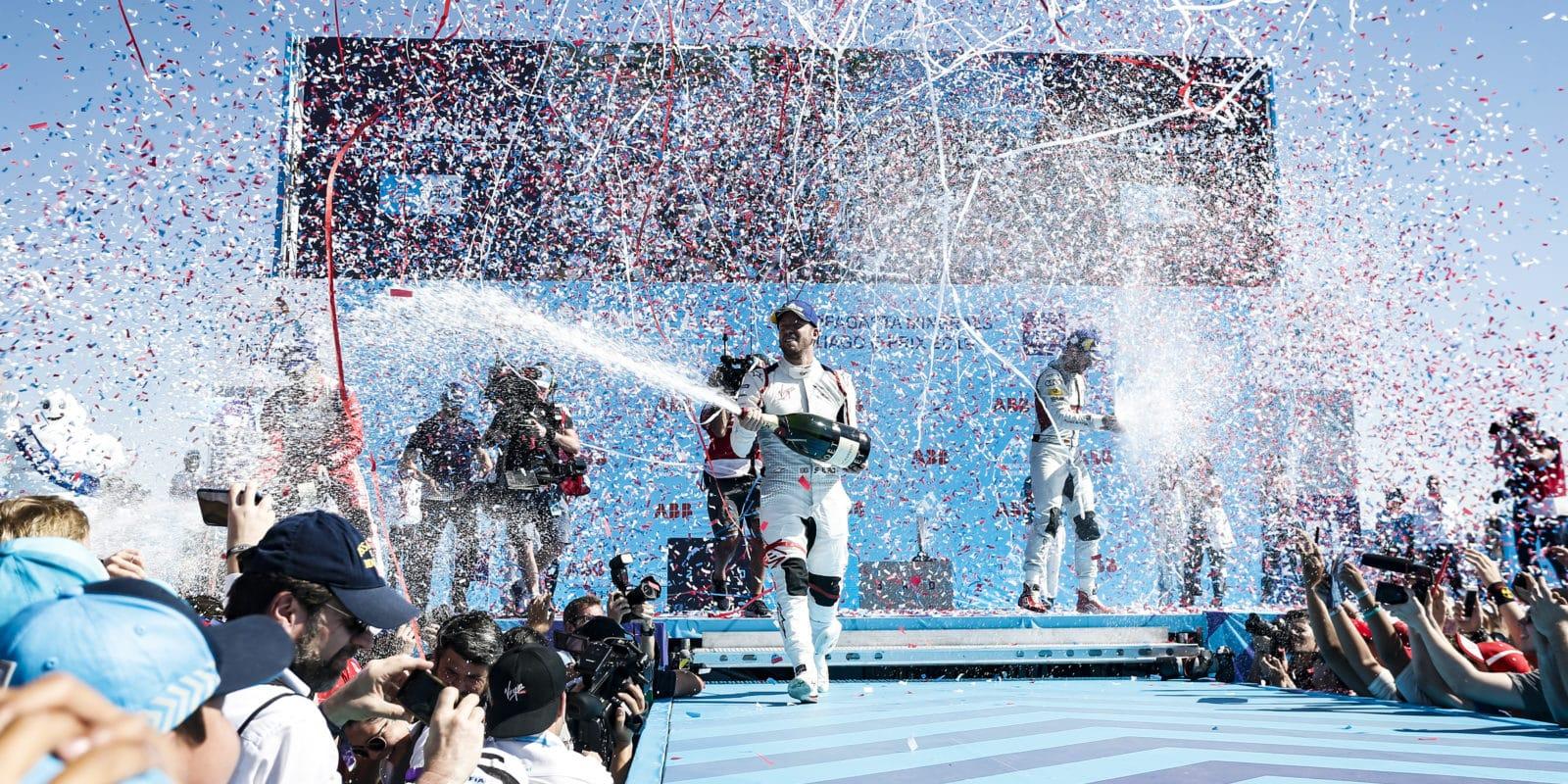 Bird vyhrál Santiago ePrix ikdyž měl namále