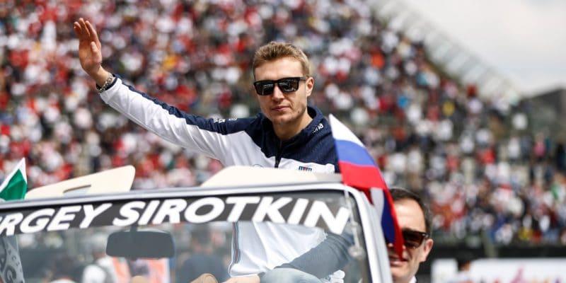 Sirotkin otestuje vůz FormuleE