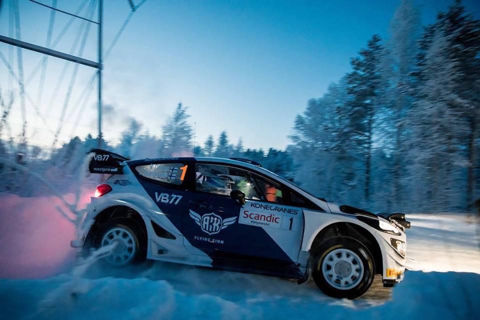 Bottasův rallyový debut skončil pátým místem