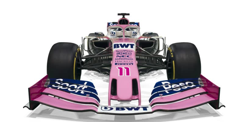 Racing Point prezentoval novou image apřechodné auto