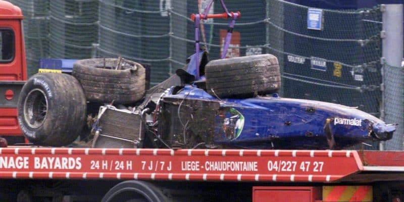 Sennova havárie zachránila můj život, říká Luciano Burti