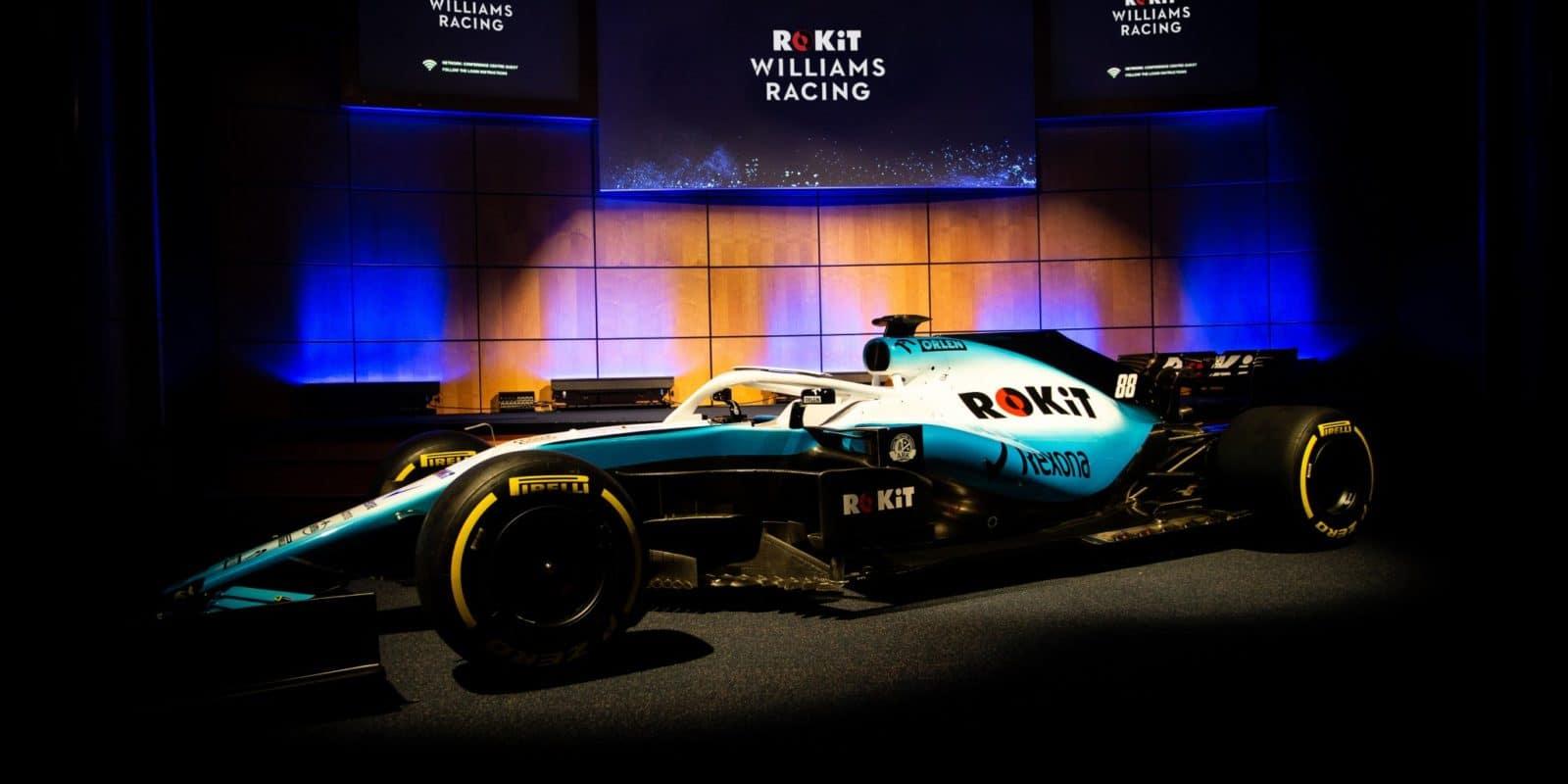 Williams ukázal nové barvy atitulárního sponzora