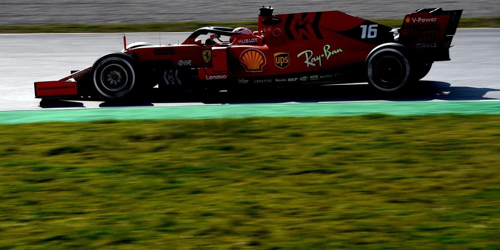 Mission Winnow je nadále titulárním sponzorem Ferrari