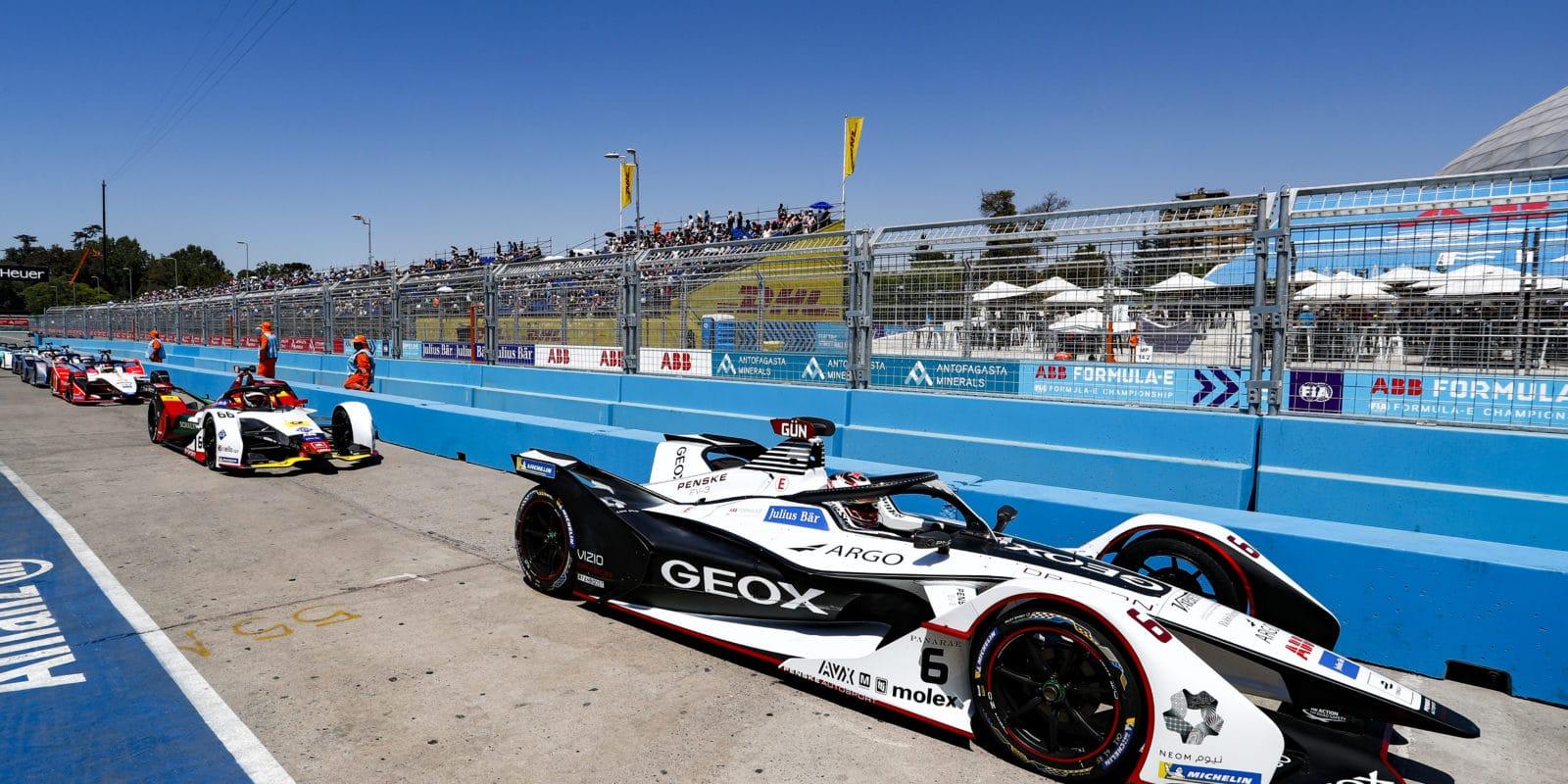 Felipe Nasr přichází do Formule E