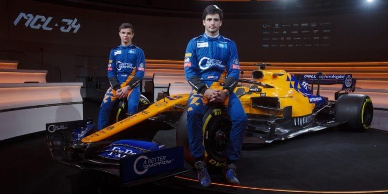 McLaren odhalil nový monopost MCL34
