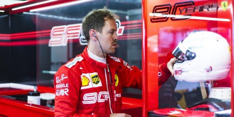 Vettel říká, že Ferrari má navíc