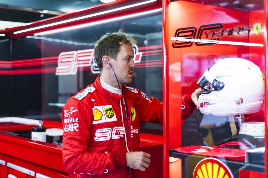 Vettel říká, že Ferrari má na víc
