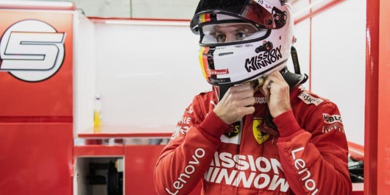 Ferrari bude dále zkoumat příčinu Vettelovy nehody