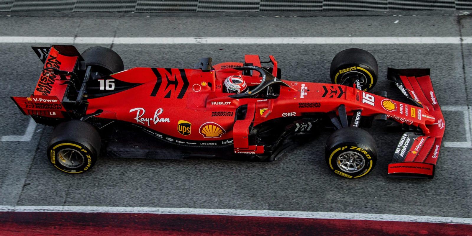 Ferrari pro GP Austrálie odstraní loga Mission Winnow