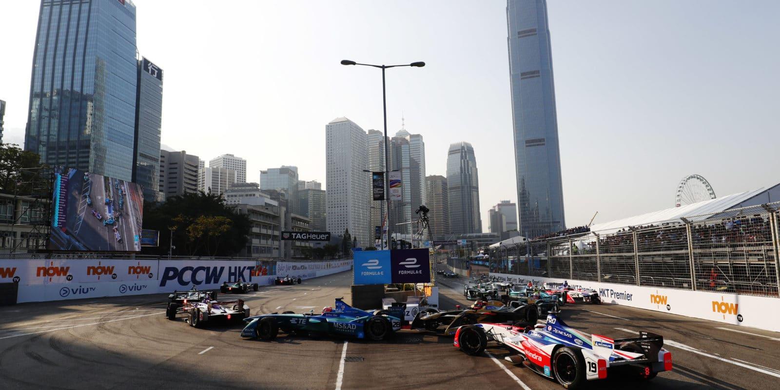 Shakedown před Hong Kong ePrix