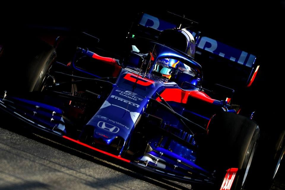 Albon je svozem Toro Rosso spokojen