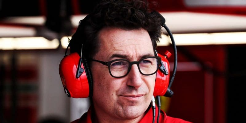 Ferrari nikdy nevzdá sezónu 2019, řekl Mattia Binotto