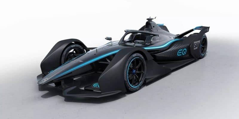 Mercedes představil svůj monopost Formule E