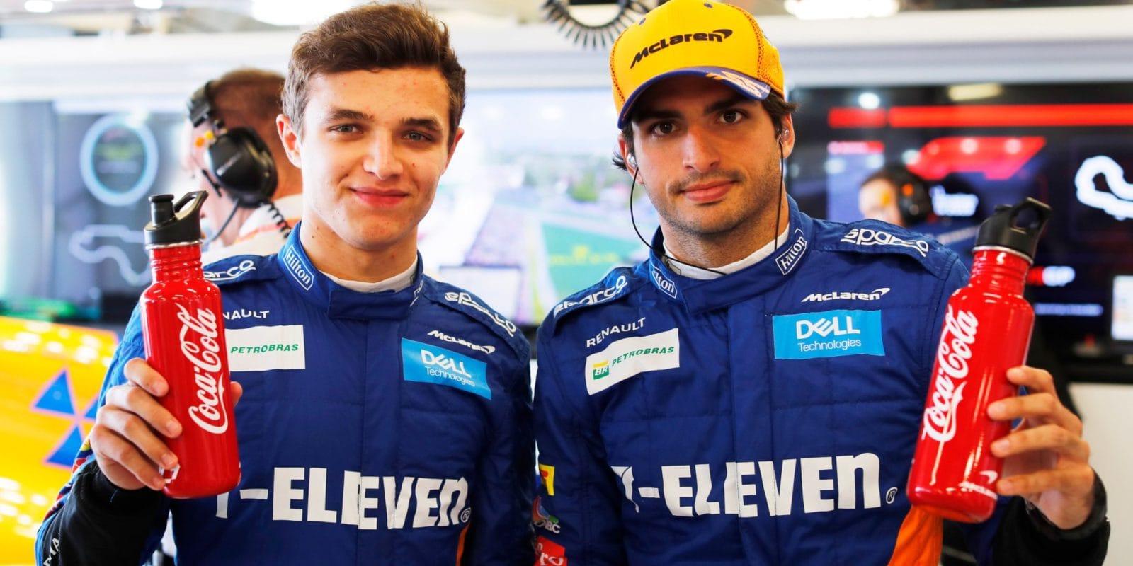 Norris vkvalifikaci zazářil, Sainz skončil již vprvní části