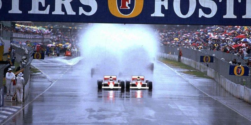 Bývalý okruh F1 vhledáčku FormuleE