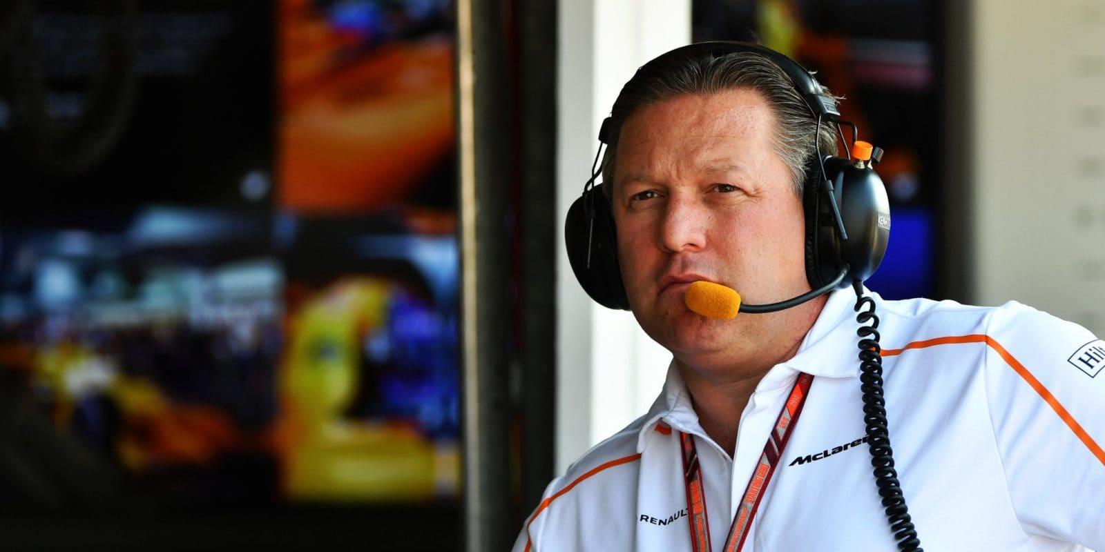 Brown vyhrožuje odchodem McLarenu