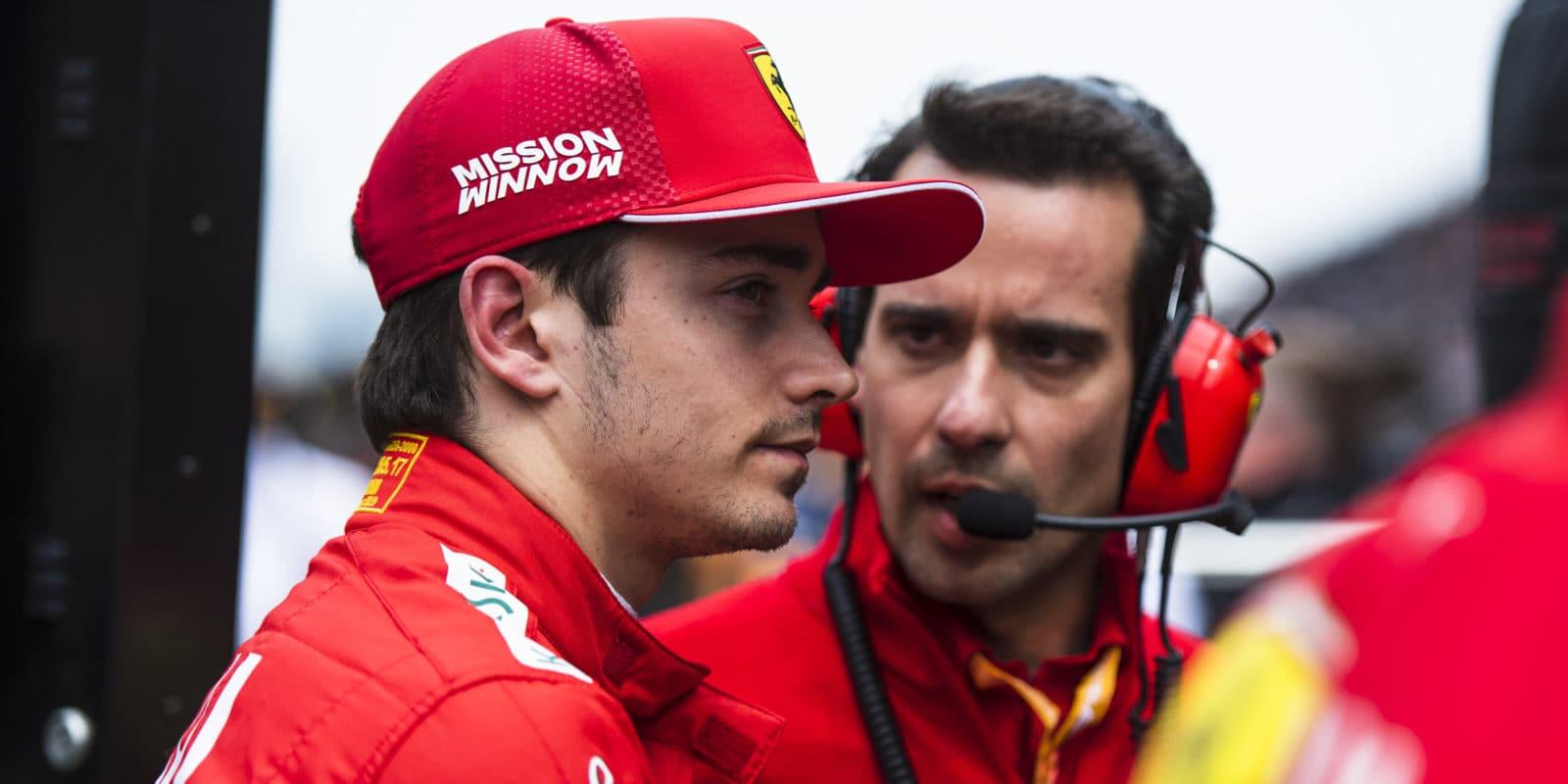 Leclerc odhalil týmovou taktiku