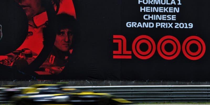 Jak Formule 1 oslavila 1000. závod na sociálních sítích