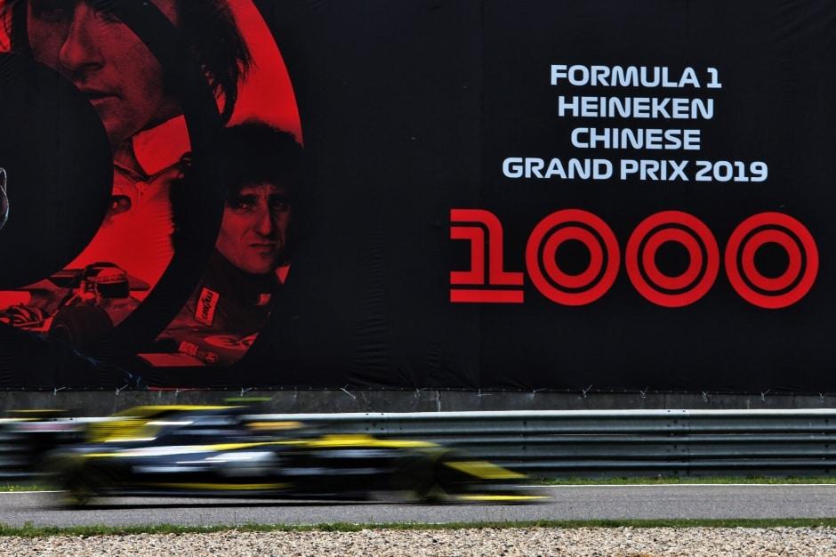 Jak Formule1 oslavila 1000.závod nasociálních sítích