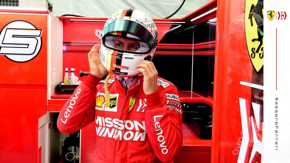 """Palmer označil Vettelovu chybu za """"začátečnickou"""""""