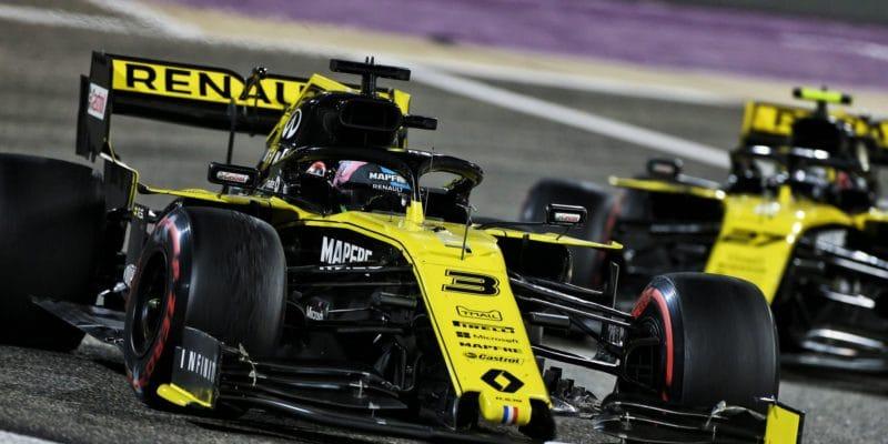 Ricciardo začíná být pro Hülkenberga hrozbou