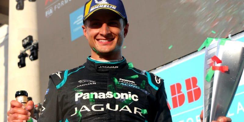 Řím je dobyt Jaguarem s Evansem, Jaguar slaví první vítězství!