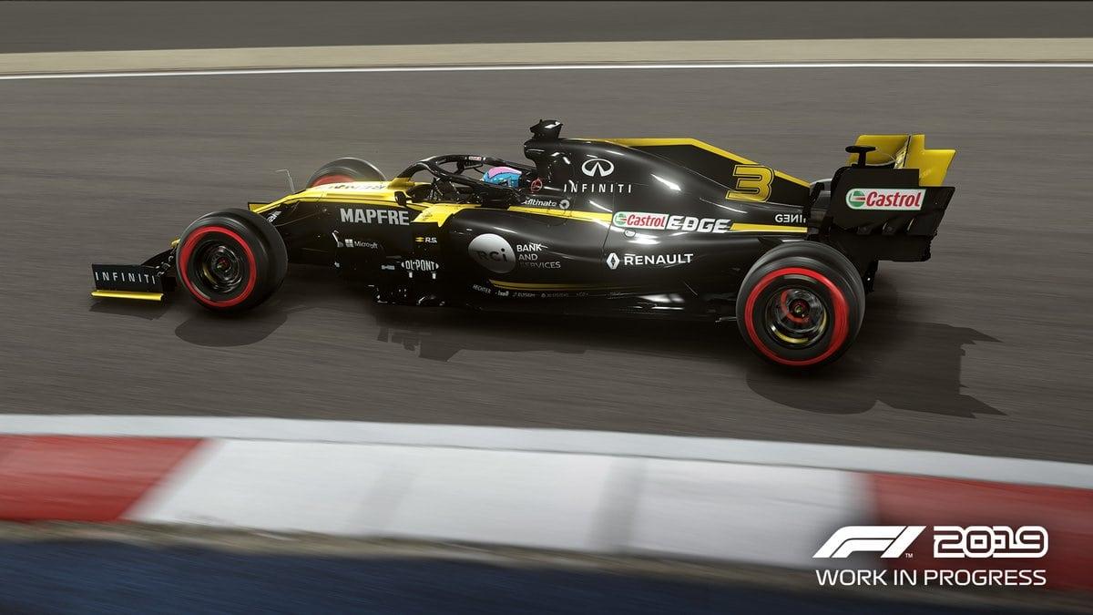 Codemasters odhalilo seznam monopostů v F1 2019