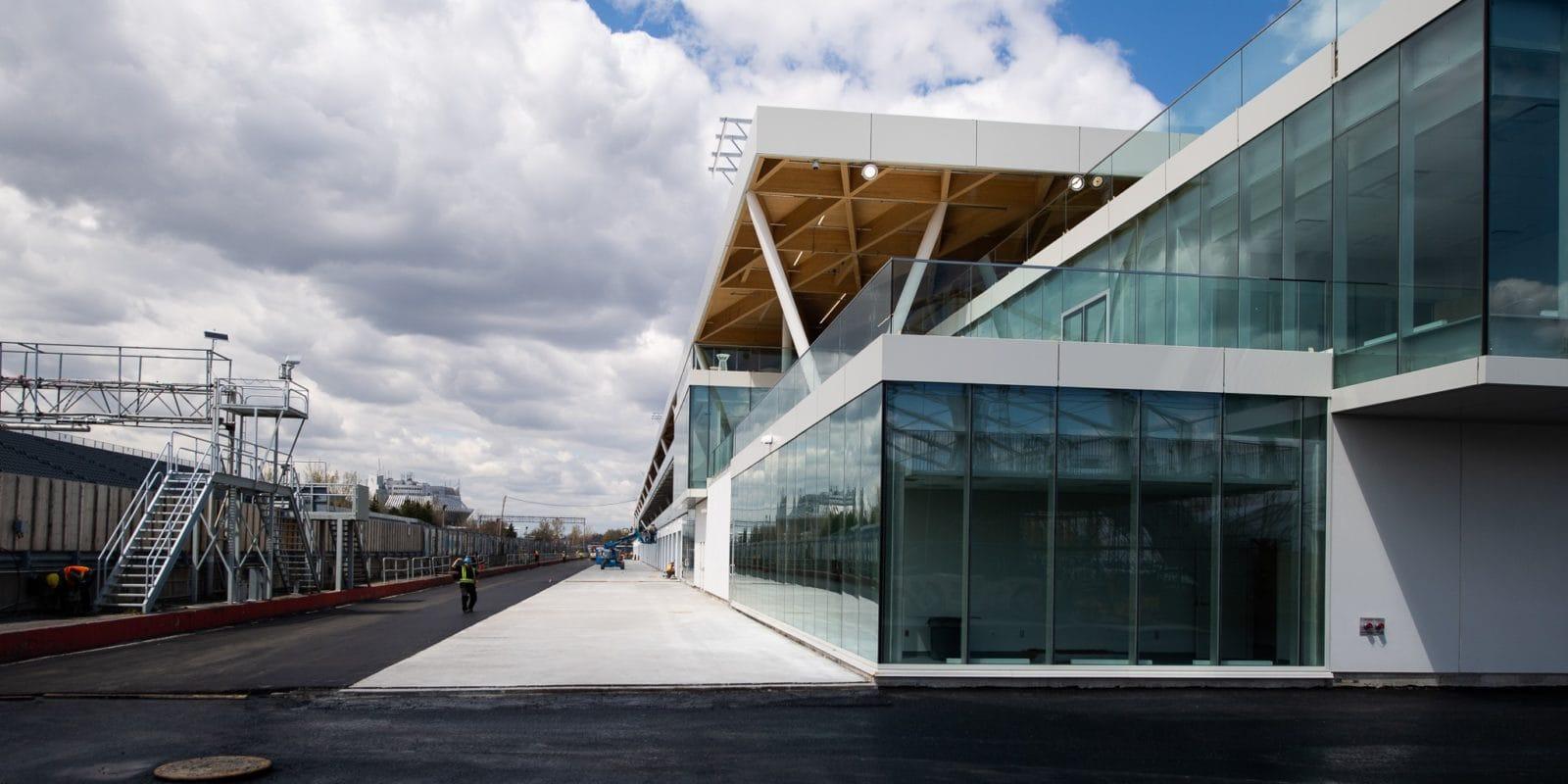 Pořadatelé GP Kanady odhalili novou budovu v paddocku