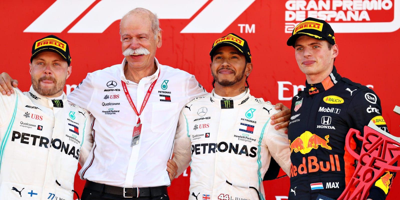 """Verstappen: Hamilton """"je dobrý, ale není bůh"""""""