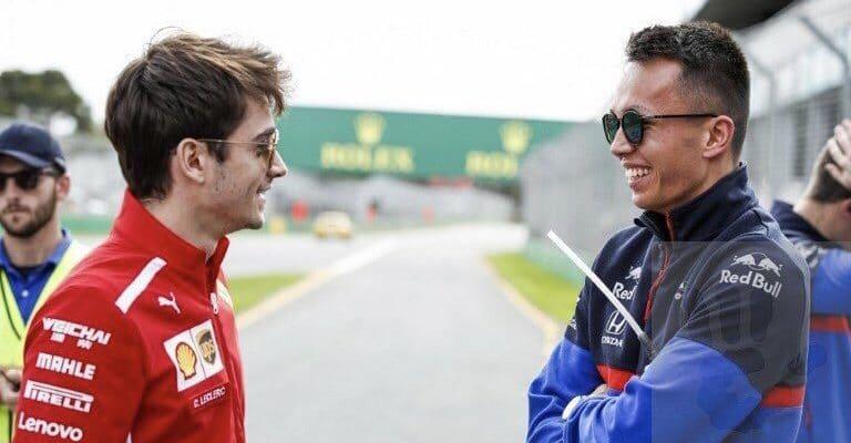 Albon oLeclercovi: Nedivím se, že mu Vettel nestačí