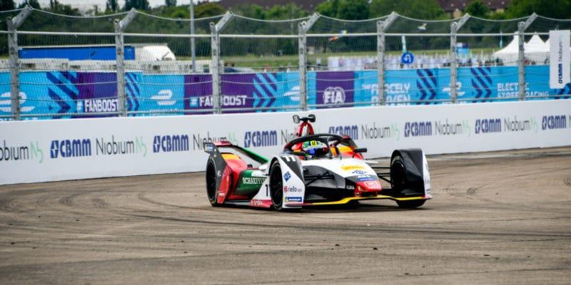 Berlín ePrix: Audi slavilo sdi Grassim vítězství nadomácí půdě