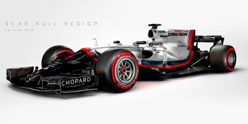 Porsche má hotový motor pro F1, vstup však vylučuje