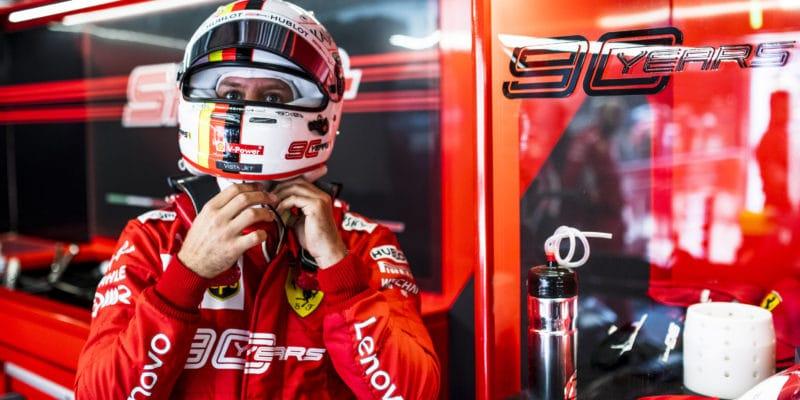 Ferrari seodvolalo proti penalizaci Vettela
