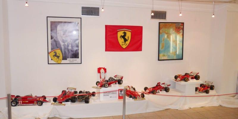 Nepropásněte výstavu vozů Ferrari F1