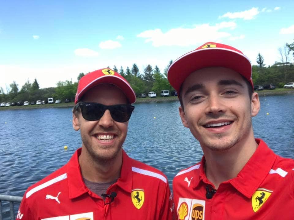 Leclerc: Mám se od Vettela co učit
