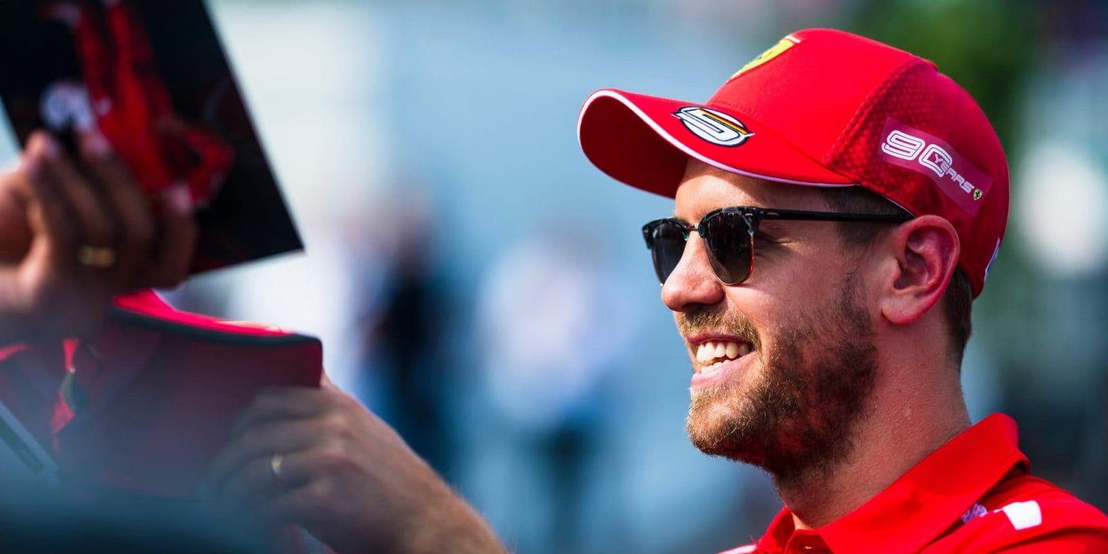Vettel: Leclerca zatím nemohu nazvat nejtěžším týmovým kolegou