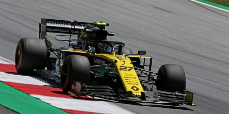 Hülkenberg obdrží penalizaci zanový motor