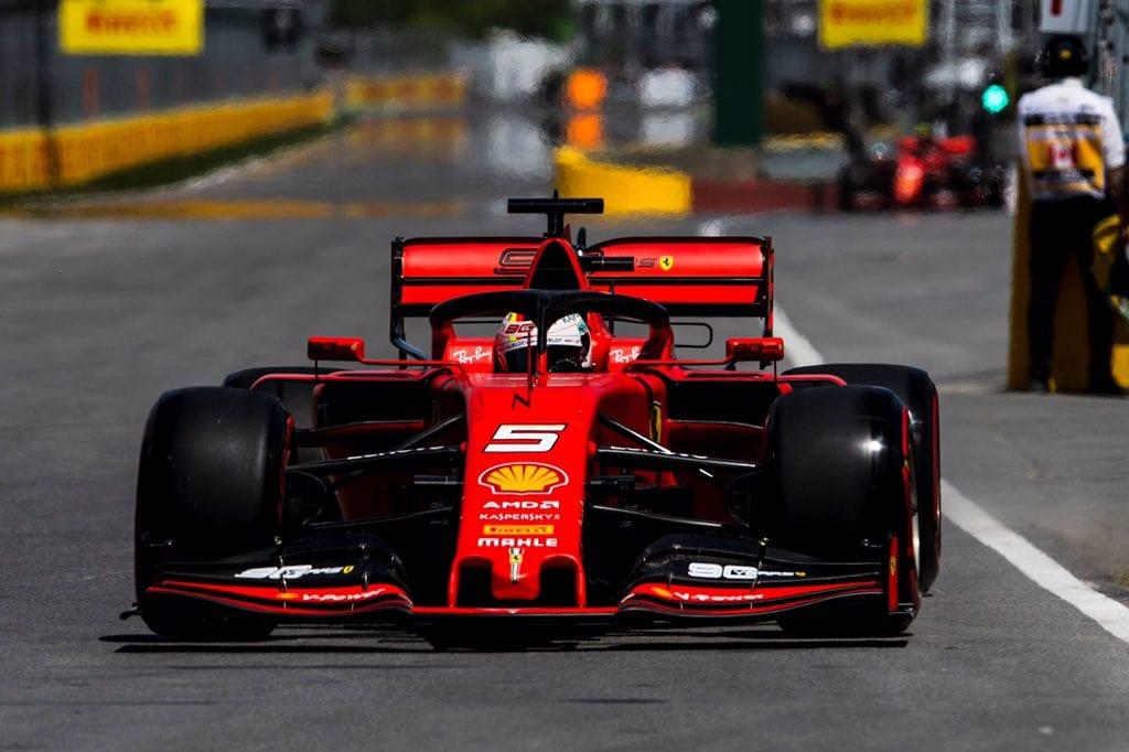 Kvalifikaci vyhrál Vettel, Magnussen havaroval v Q2