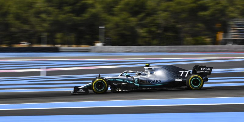 Valtteri Bottas byl nejrychlejší ve druhém tréninku