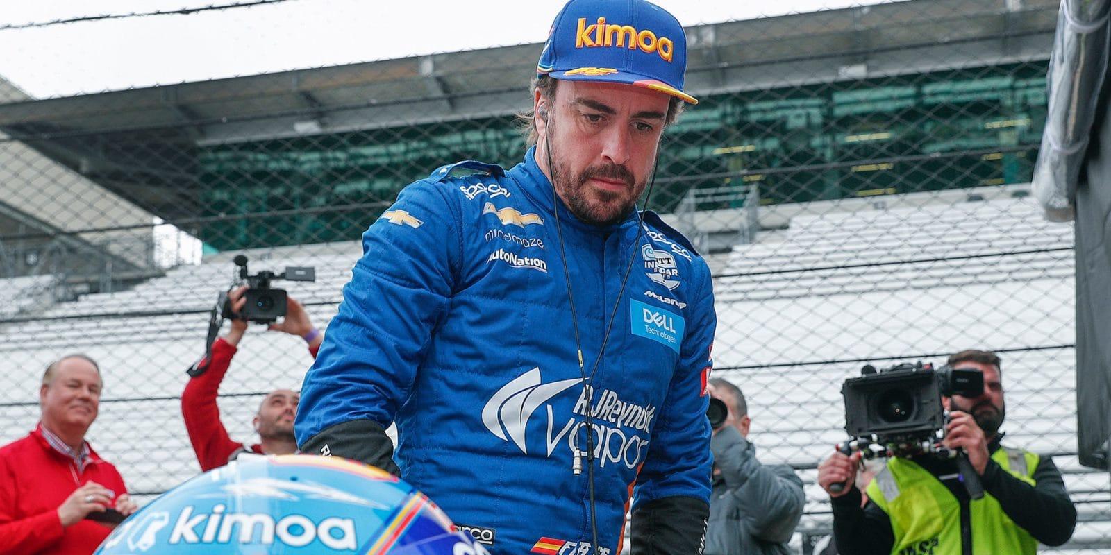 Alonso nemá v plánu závodit příští rok v IndyCar