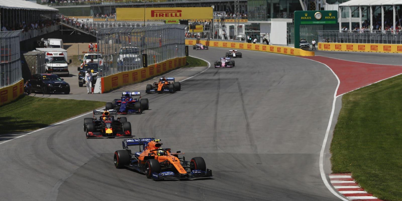 McLaren odhalil příčinu poškození na Norrisově voze