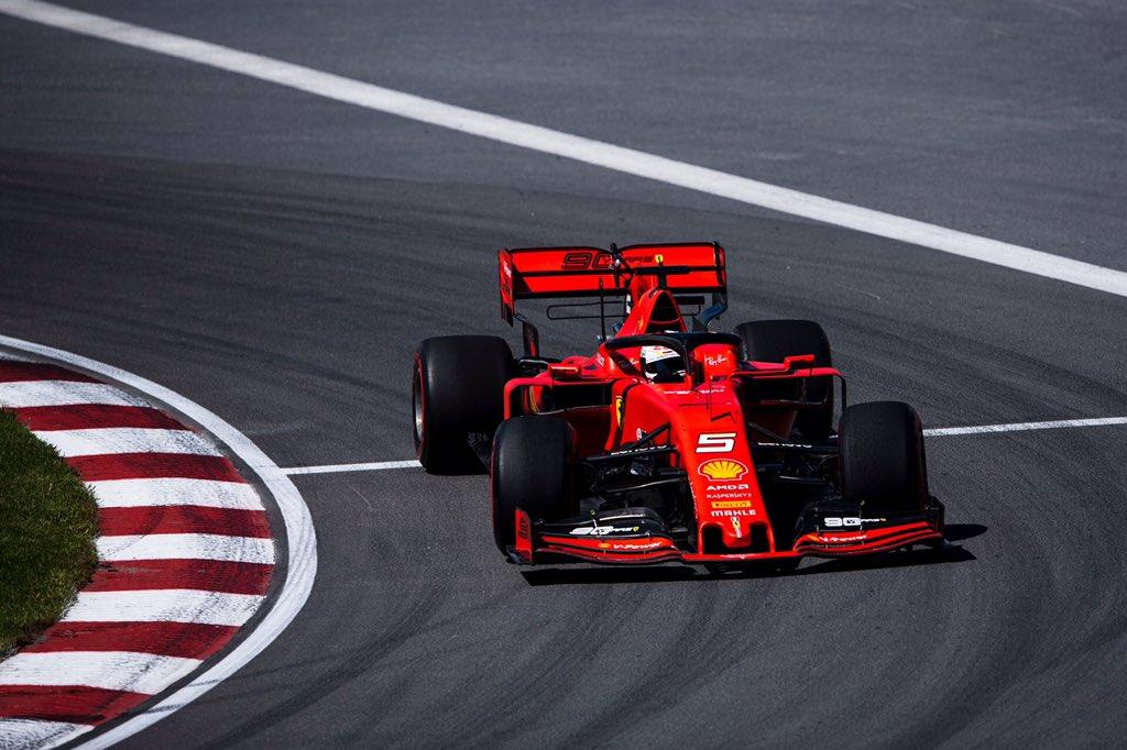 Ferrari opanovalo i třetí trénink, nejrychlejší Vettel