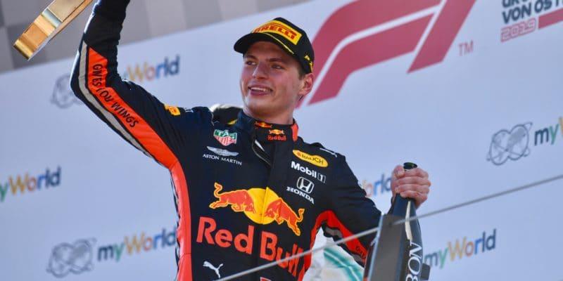 Verstappen: Pódia jsou ve zbytku sezóny maximem